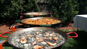 First communion paellas in Newton Ma.